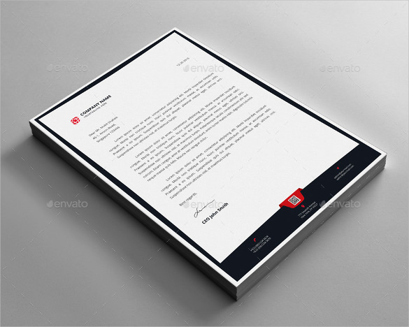 Example Letterhead Design