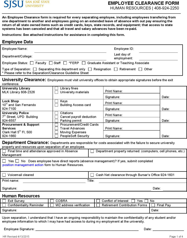 sample hr form example of survey form pdf sample hr survey forms - Hr Form