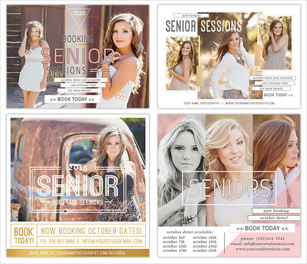 Example Photography Marketing Template for Photoshop