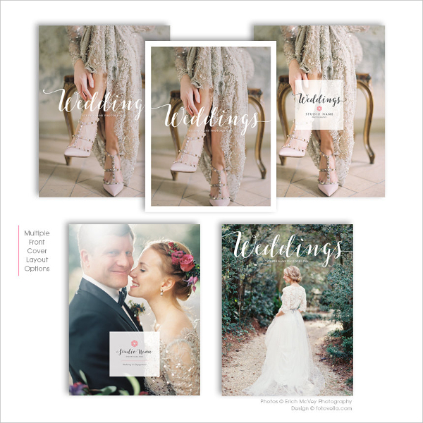 Example Wedding Photographer Marketing Template