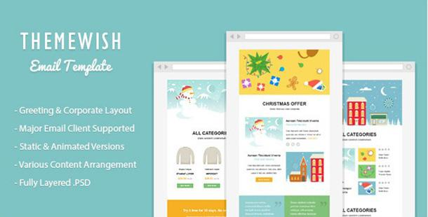 Exclusive Christmas Newsletter Template Html Format
