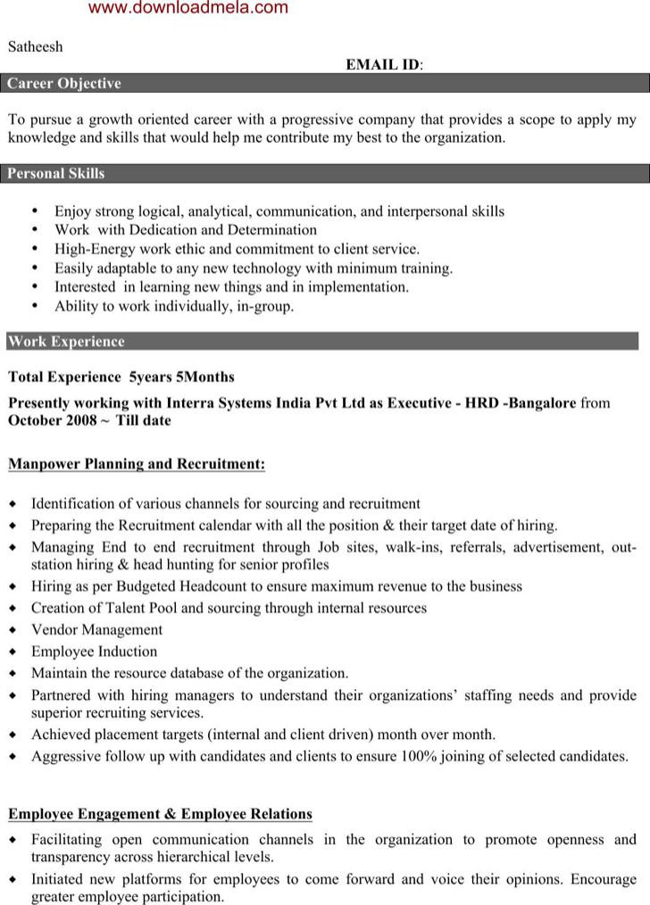 similar articles - Employee Relation Manager Resume
