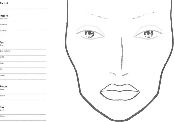 Face Chart 1