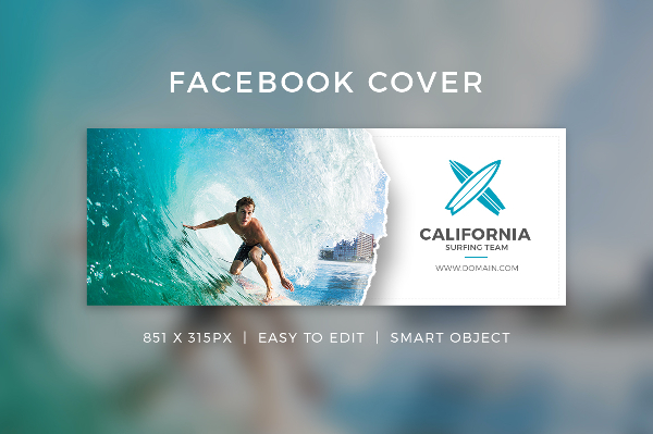 Facebook Cover Page Template
