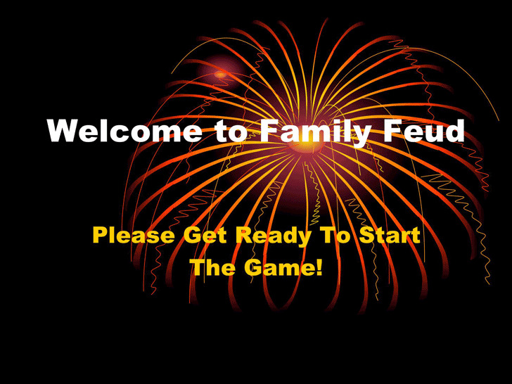 Family Feud Powerpoint Template Download Free Premium Templates