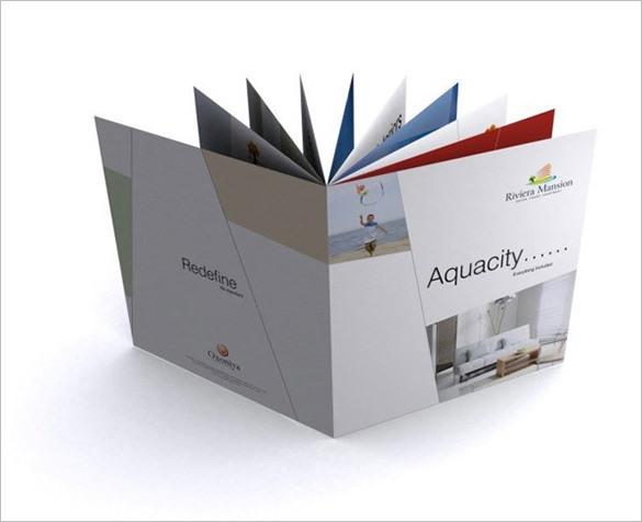 Fantastic Construction Company Brochure Template