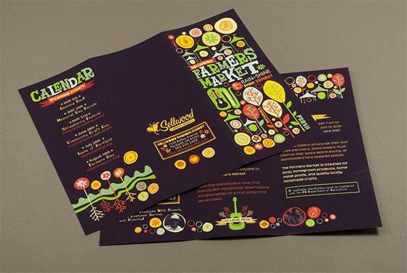 Farmers Market Brochure Desine Idea