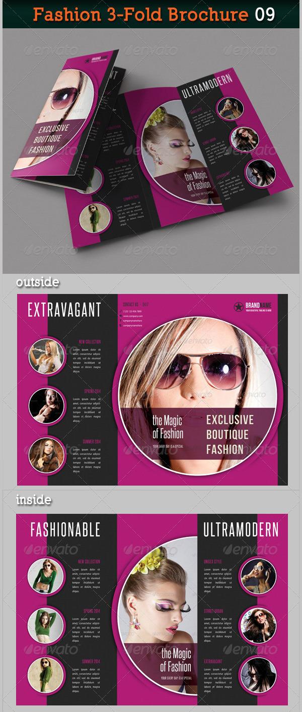 Fashion 3-Fold Brochure 09