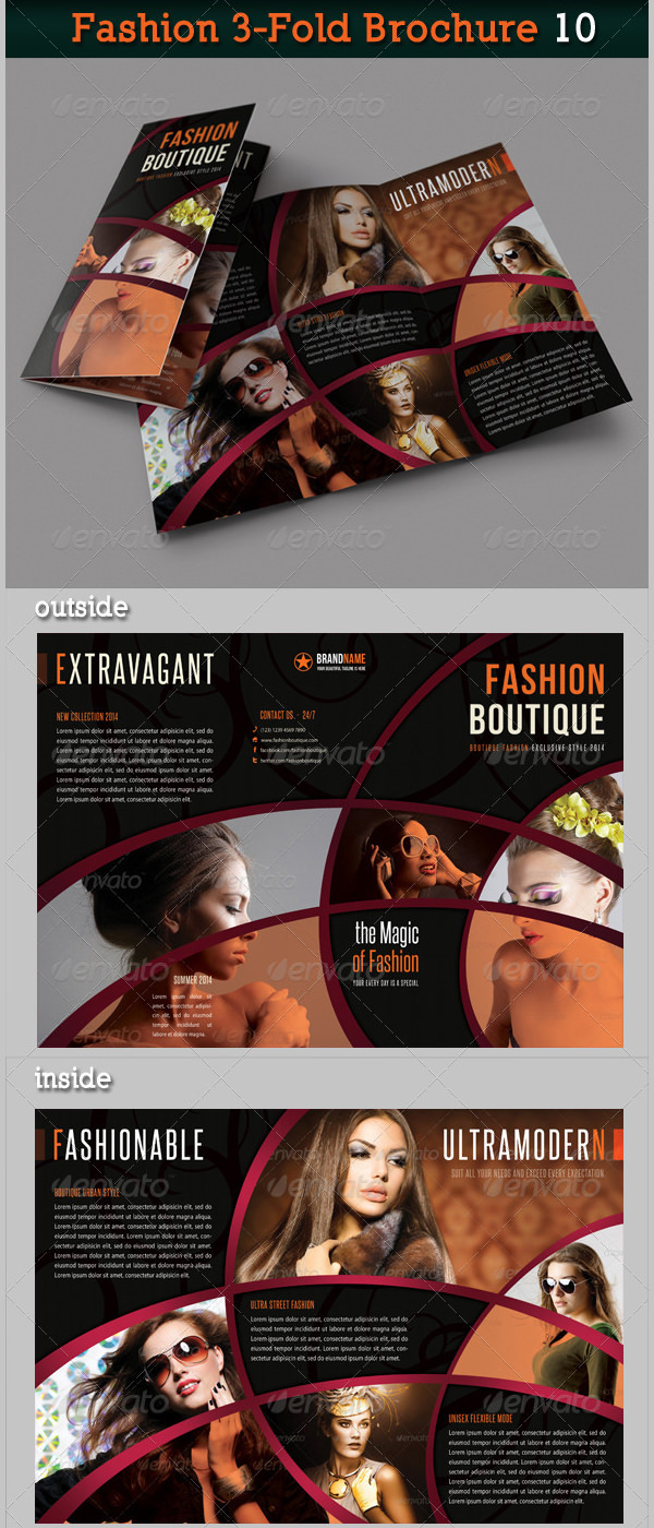 Fashion 3-Fold Brochure 10