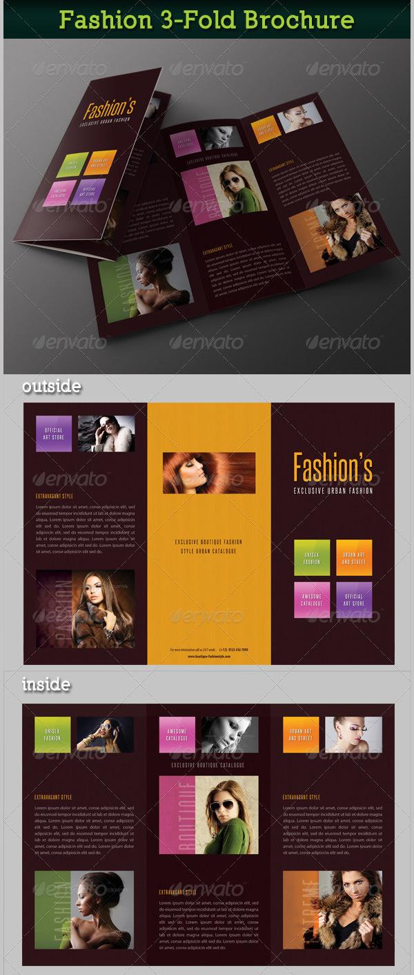 Fashion 3-Fold Brochure 18