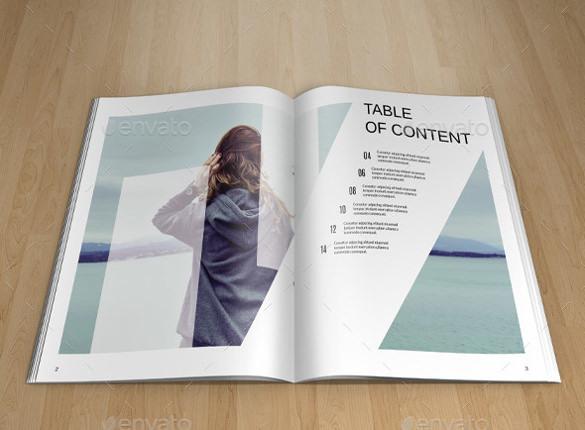 Fashion Lookbook Brochure Template