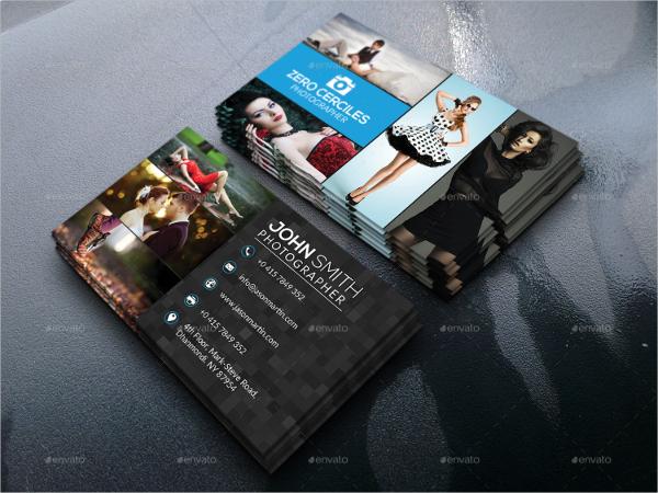 Fashion Photography Business Card