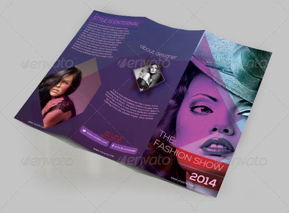 Fashion Trifold Brochure Design