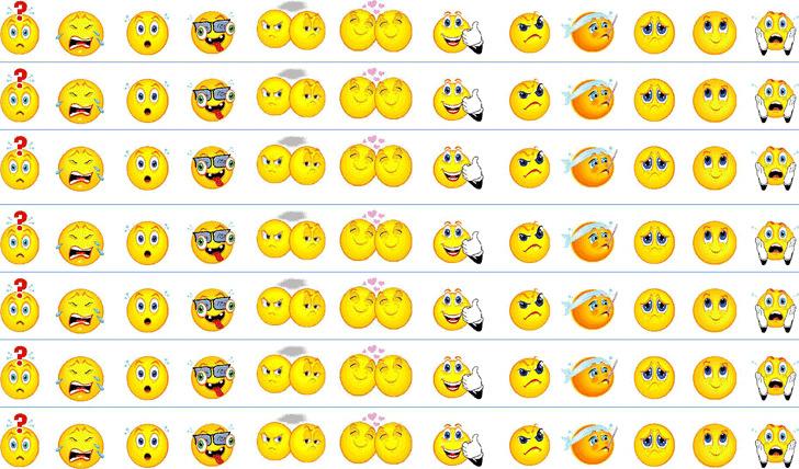 Feelings Chart 1