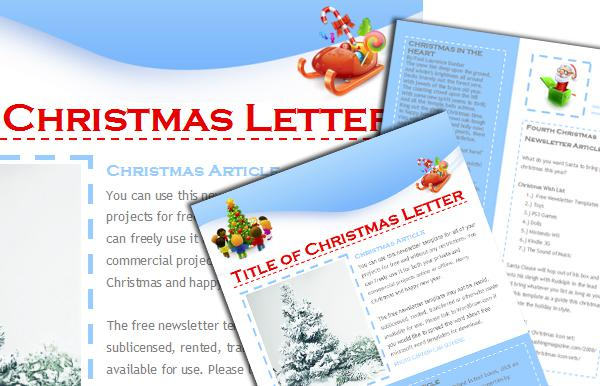 Festive Mail Responsive Christmas Newsletter