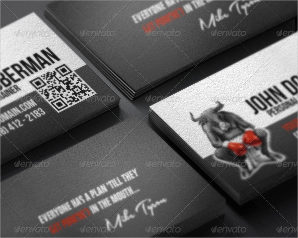 Fight Club Business Card