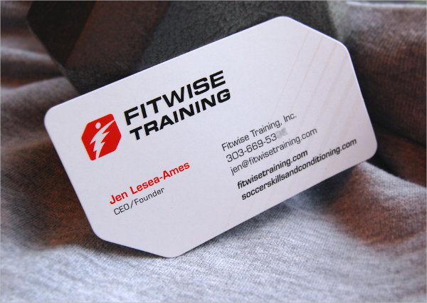 Fitwise Training Business Card
