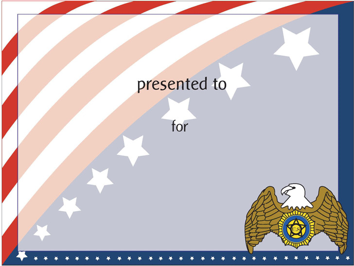 Flag Team Certificate