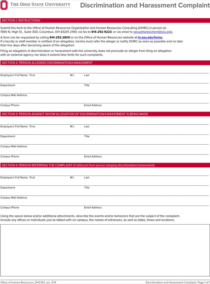 33 Free Hr Formshr Form. Printable Employment Application Form 10+