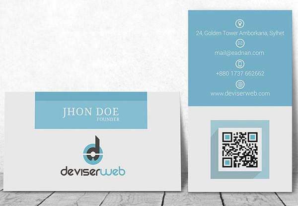 Free Business Cards MOCK-UP