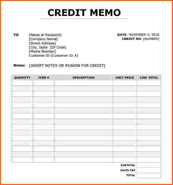Credit note template download free premium templates forms free download credit note template pdf thecheapjerseys Gallery
