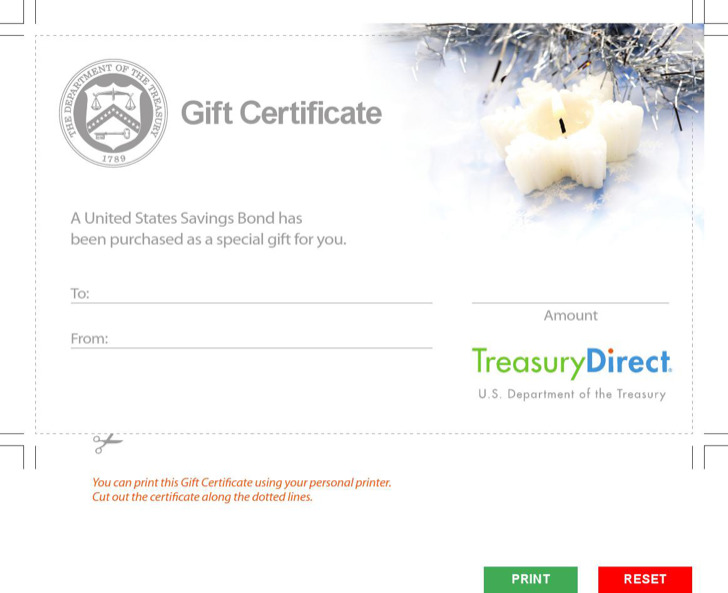 Holiday Gift Certificate Templates Download Free Premium