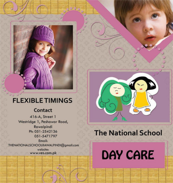 Daycare Brochure Templates Download Free Premium Templates - Child care brochure template free