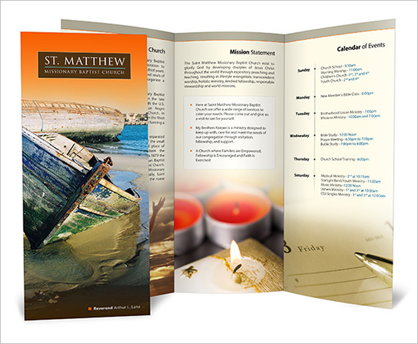 St. Matthews Baptist Church Brochure