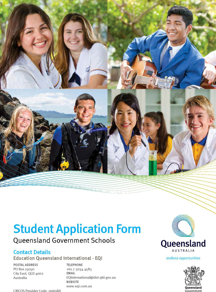 Free Downloadable Student School Application Form