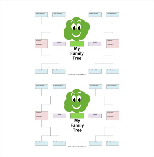 Family Tree Templates Download Free Premium Templates Forms