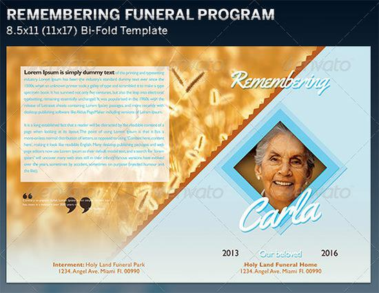 Free Obituary Service Outline Template Doc Download