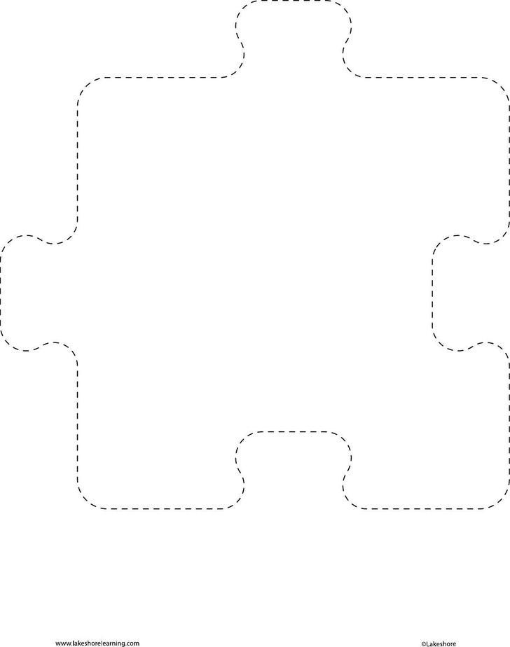 Puzzle Piece Template – Puzzle Piece Template