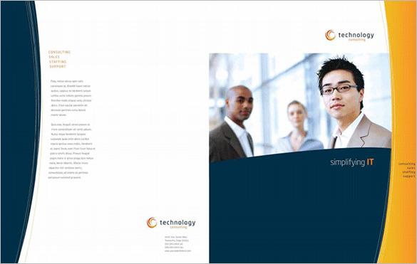 Free Sample Brochure Template Design