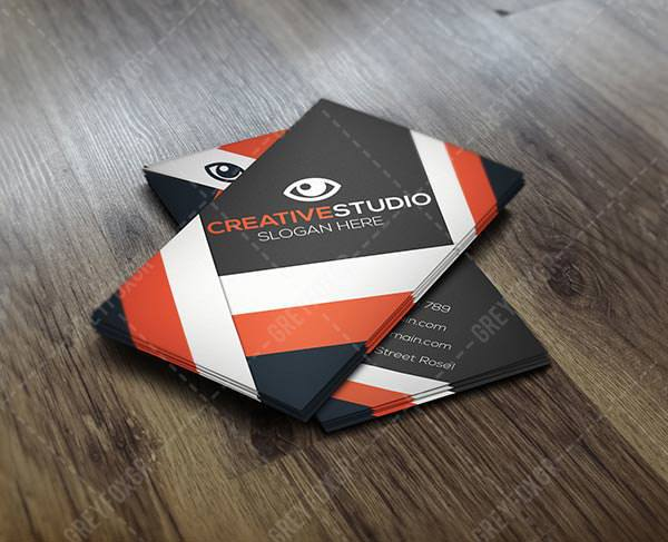 Free Sample Business Card Template