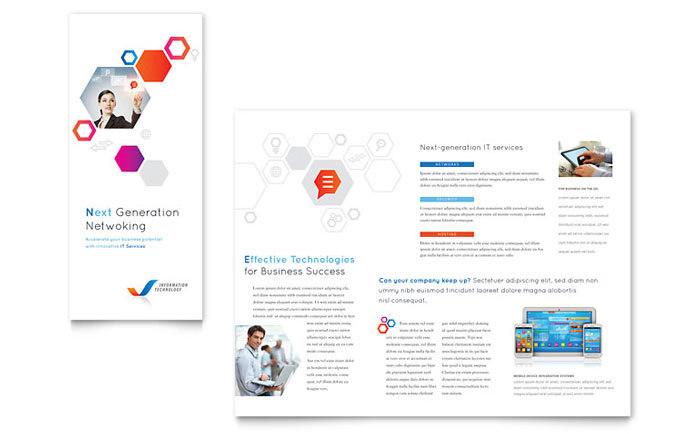 Free Sample Tri Fold Brochure Template