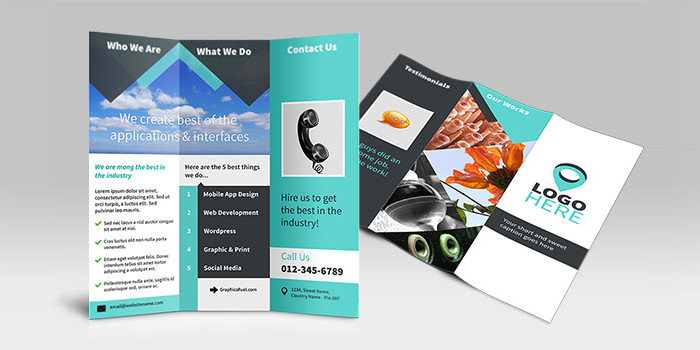 Free Trifold Brochure Template Insssrenterprisesco - Tri fold brochure template photoshop free