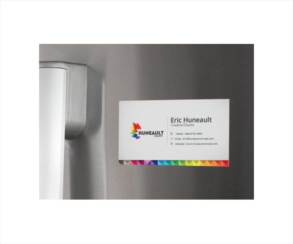 Fridge Magnet Business Card