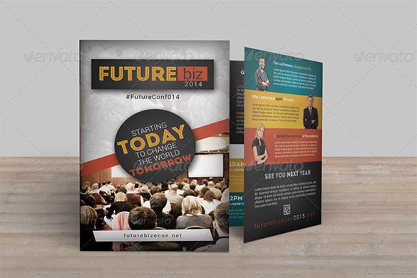 Future Conference Bifold Brochure