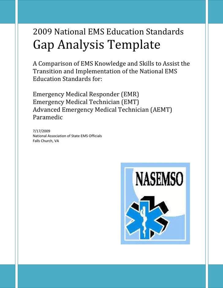 Gap Analysis Template  Download Free  Premium Templates Forms