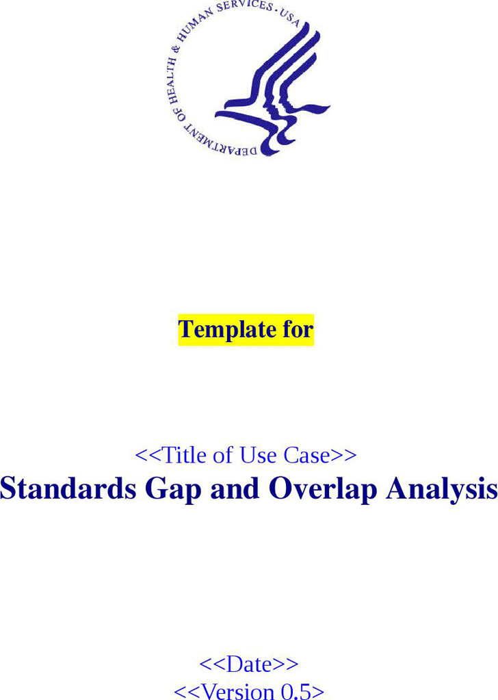 Gap Analysis Template | Download Free & Premium Templates, Forms