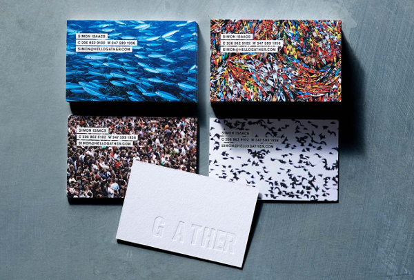 Gather Business Brands Card Designs