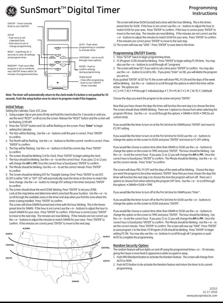 GE Quick Reference Guide Sample