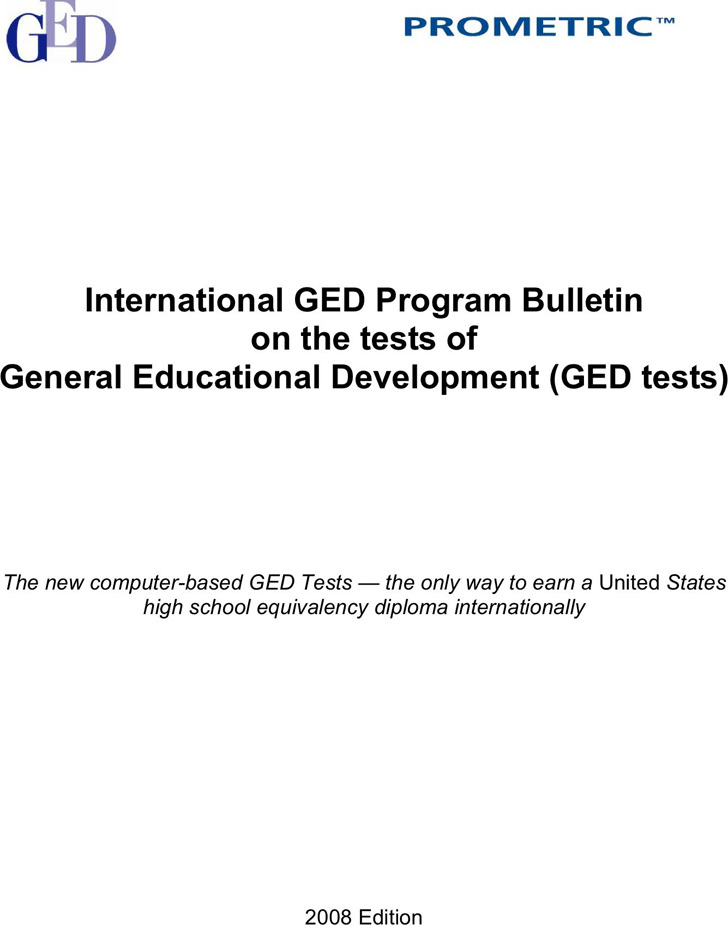 GED Sample Test | Download Free & Premium Templates, Forms ...