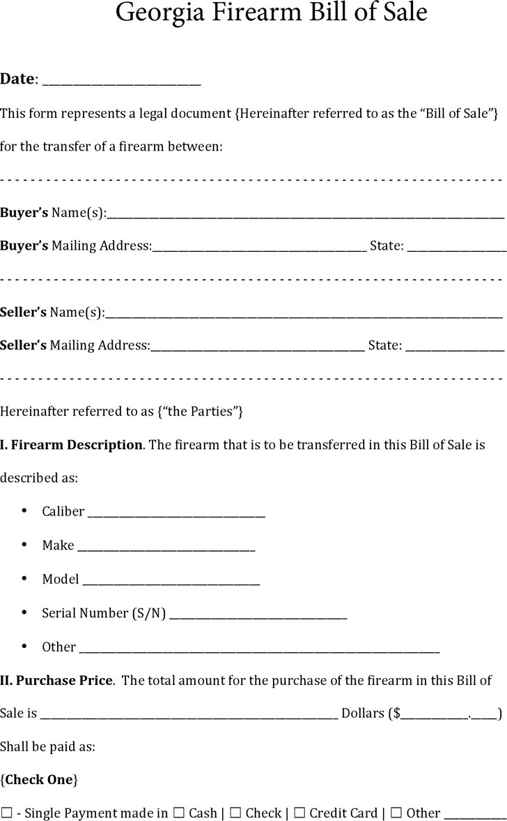 Georgia bill of sale form download free premium templates forms samples for jpeg png for Georgia bill of sale for trailer