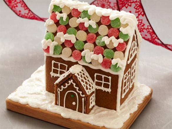 Gingerbread House Recipe Template Free