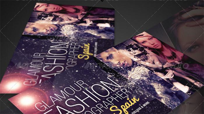Glamour Fashion Card