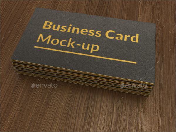 Gold Foil Embossed Business Card