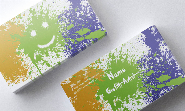 Graffiti Artist Business Card