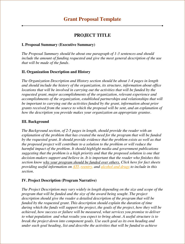 Grant Proposal Template 2