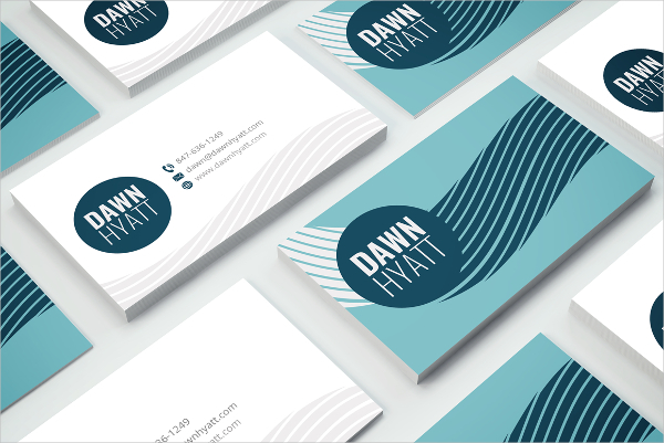 Graphic Designer Artist Business Card